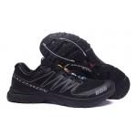Salomon S-LAB Sense Speed Trail Running Shoes In Black Gray