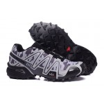 Men's Salomon Speedcross 3 CS Trail Running Shoes In Black Camouflage