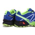 Men's Salomon Speedcross 3 CS Trail Running Shoes In Blue