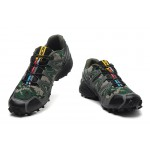 Men's Salomon Speedcross 3 CS Trail Running Shoes In Camouflage