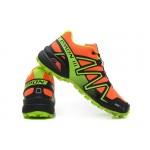 Men's Salomon Speedcross 3 CS Trail Running Shoes In Orange