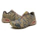 Men's Salomon Speedcross 3 CS Trail Running Shoes In Sand Camouflage