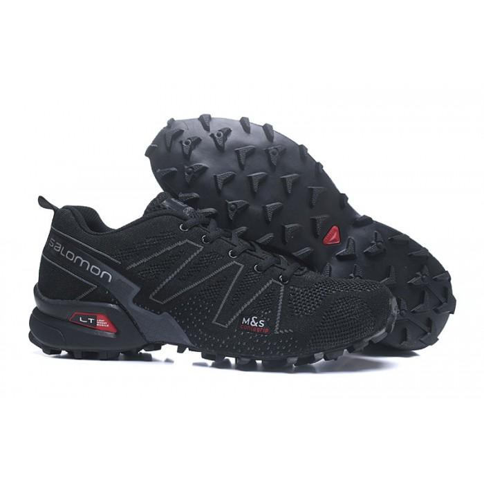 Salomon Speedcross 3 Adventure Shoes In Black Gray
