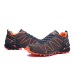 Salomon Speedcross 3 Adventure Shoes In Black Orange