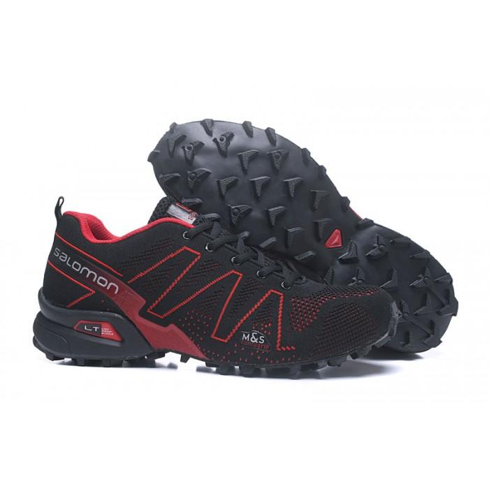Salomon Speedcross 3 Adventure Shoes In Black Red