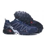 Salomon Speedcross 3 Adventure Shoes In Blue White