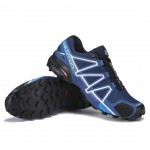 Men's Salomon Speedcross 4 Trail Running Shoes In Deep Blue