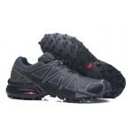 Men's Salomon Speedcross 4 Trail Running Shoes In Deep Gray