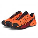 Men's Salomon Speedcross 4 Trail Running Shoes In Orange
