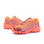 Women's Salomon Speedcross 4 Trail Running Shoes In Orange Wine