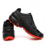 Salomon Speedcross 5 GTX Trail Running Shoes In Black Orange