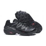 Salomon Speedcross 5 GTX Trail Running Shoes In Black Silver