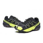 Salomon Speedcross 5 GTX Trail Running Shoes In Black Yellow