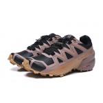 Salomon Speedcross 5 GTX Trail Running Shoes In Black khaki
