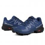 Salomon Speedcross 5 GTX Trail Running Shoes In Deep Blue