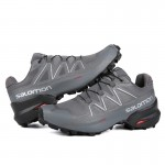 Salomon Speedcross 5 GTX Trail Running Shoes In Full Gray