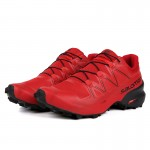 Salomon Speedcross 5 GTX Trail Running Shoes In Light Red