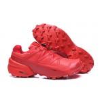 Salomon Speedcross 5 GTX Trail Running Shoes In Red