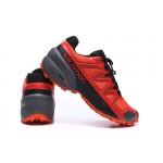 Salomon Speedcross 5 GTX Trail Running Shoes In Red Black