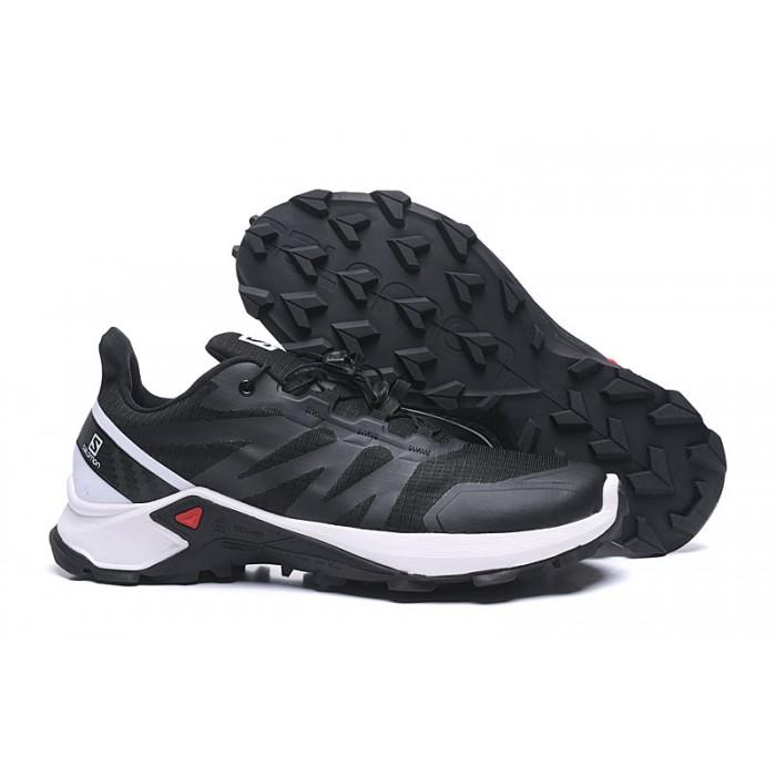 Salomon Speedcross GTX Trail Running Shoes In Black White