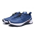Salomon Speedcross GTX Trail Running Shoes In Blue White