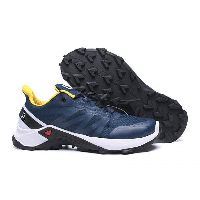 Salomon Speedcross GTX Trail Running Shoes In Deep Blue White