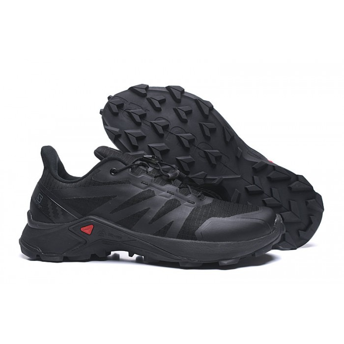 Salomon Speedcross GTX Trail Running Shoes In Full Black