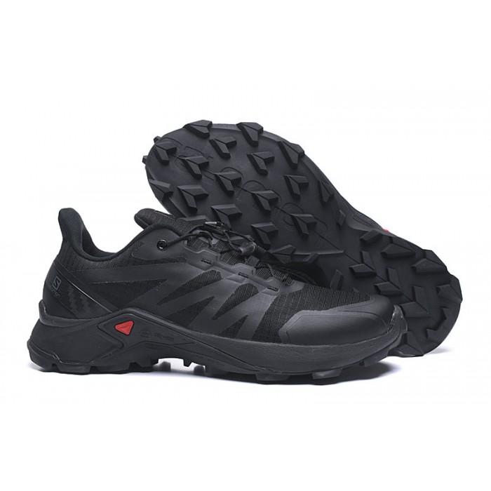 Salomon Speedcross GTX Trail Running Shoes In Full Black