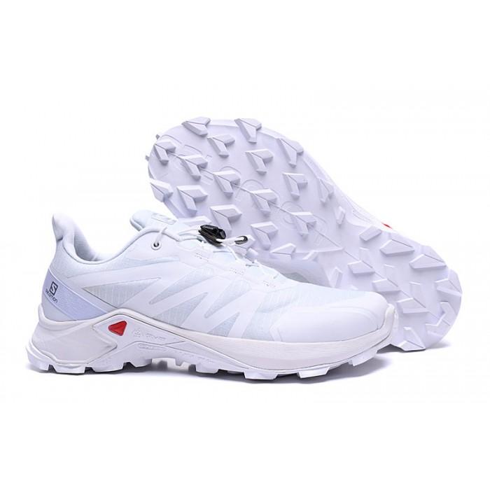 Salomon Speedcross GTX Trail Running Shoes In Full White