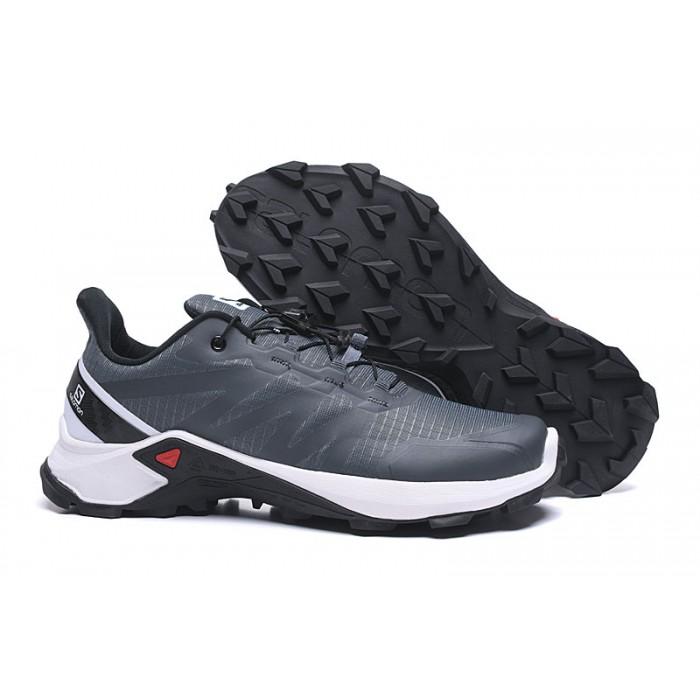 Salomon Speedcross GTX Trail Running Shoes In Gray White