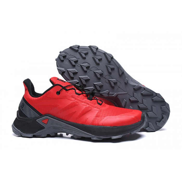 Salomon Speedcross GTX Trail Running Shoes In Red Black