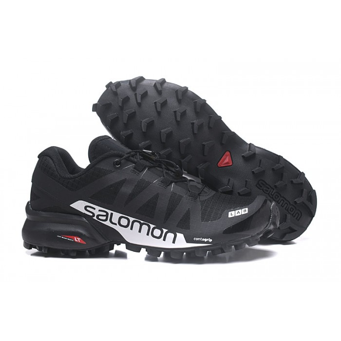 Men's Salomon Speedcross Pro 2 Trail Running Shoes In Black Silver