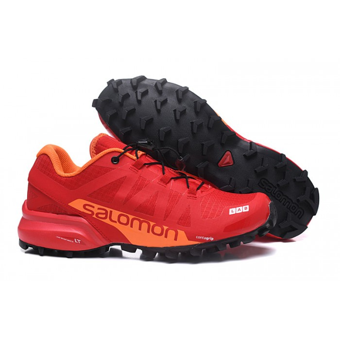Men's Salomon Speedcross Pro 2 Trail Running Shoes In Red