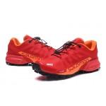 Men's Salomon Speedcross Pro 2 Trail Running Shoes In Red