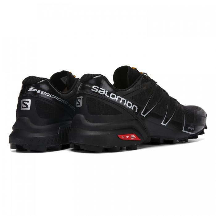 Adquisición Sada grua  Men's Salomon Speedcross Pro Contagrip Shoes Black Silver-Salomon Speedcross  Pro ultra 3 gtx