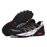 Salomon Speedcross Pro Contagrip Shoes In Black White