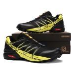 Salomon Speedcross Pro Contagrip Shoes In Black Yellow