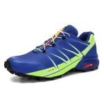 Salomon Speedcross Pro Contagrip Shoes In Blue Fluorescent