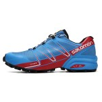 Salomon Speedcross Pro Contagrip Shoes In Blue Red