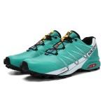 Salomon Speedcross Pro Contagrip Shoes In Lack Blue White