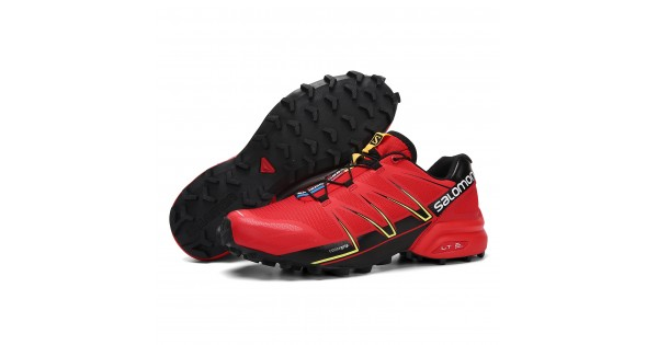 parásito veneno lana  Men's Salomon Speedcross Pro Contagrip Shoes Red Black-Salomon Speedcross  Pro Color Fashion