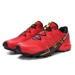 Salomon Speedcross Pro Contagrip Shoes In Red Black