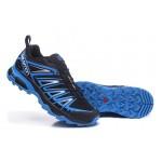 Salomon X ULTRA 3 GTX Waterproof Shoes In Black Blue